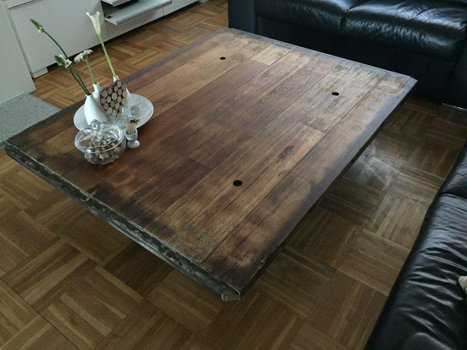 Salontafel. WE-Maatdesign WoonkamerSofa's & fauteuils Hout Hout