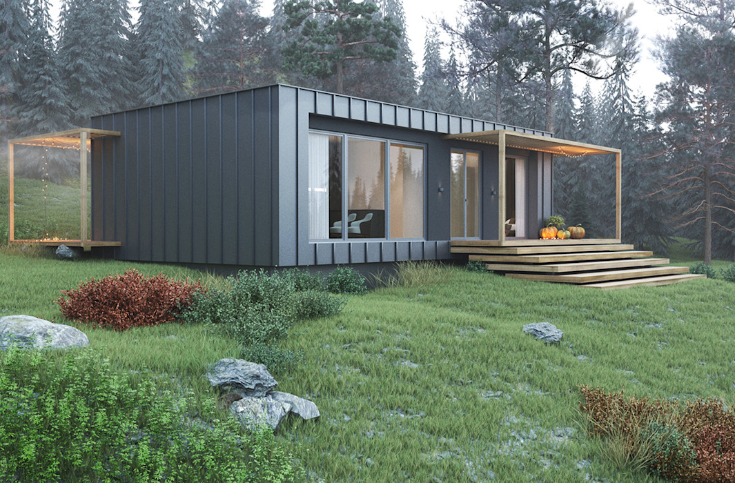 INTO THE WILD Espace Team Minimalist houses