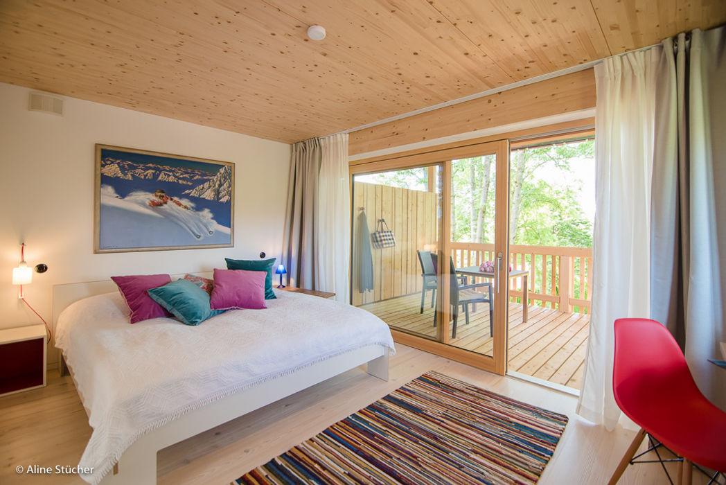 w. raum Architektur + Innenarchitektur Country style bedroom