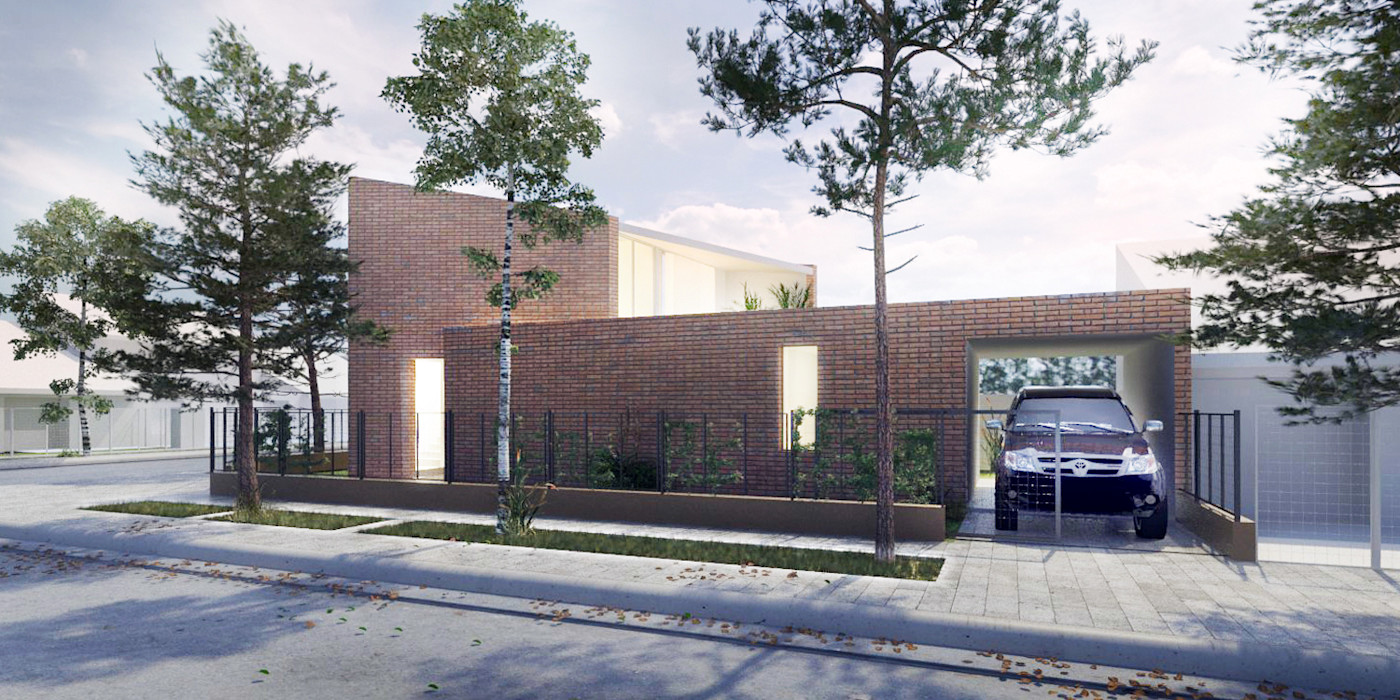 VIVIENDA UNIFAMILIAR EN CIPOLETTI CCMP Arquitectura Casas minimalistas