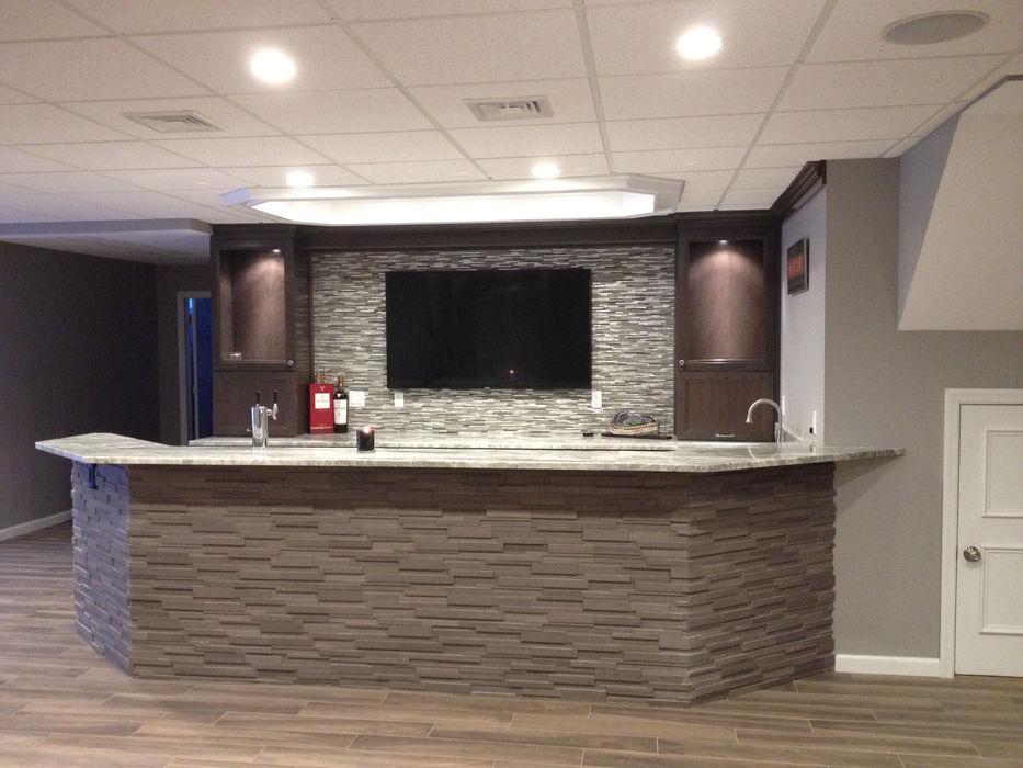 Kitchen Krafter Design/Remodel Showroom Ruang Penyimpanan Wine/Anggur Klasik