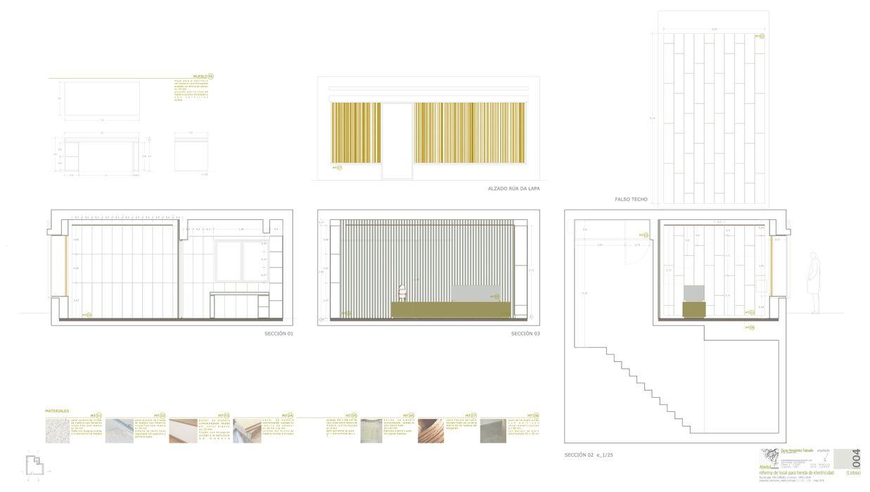 Abedul arquitectura Offices & stores