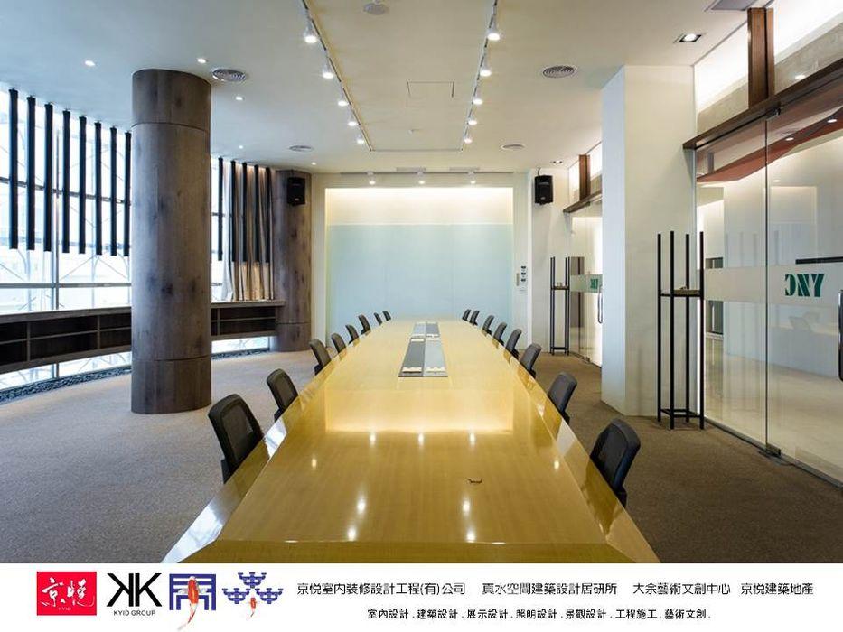京悅設計 - 立督科技集團總部 再造 Reengineering 京悅室內裝修設計工程(有)公司|真水空間建築設計居研所 購物中心 石灰岩 Wood effect