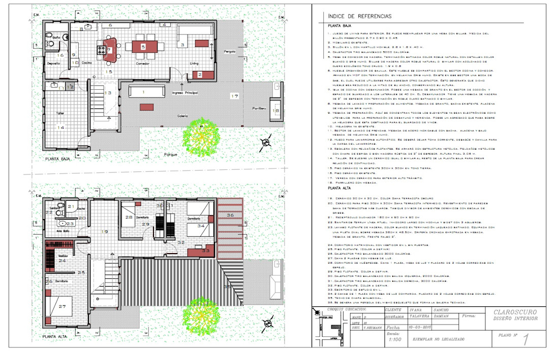 Ampliacion y remodelacion casa unifamiliar Claroscuro Diseño Interior