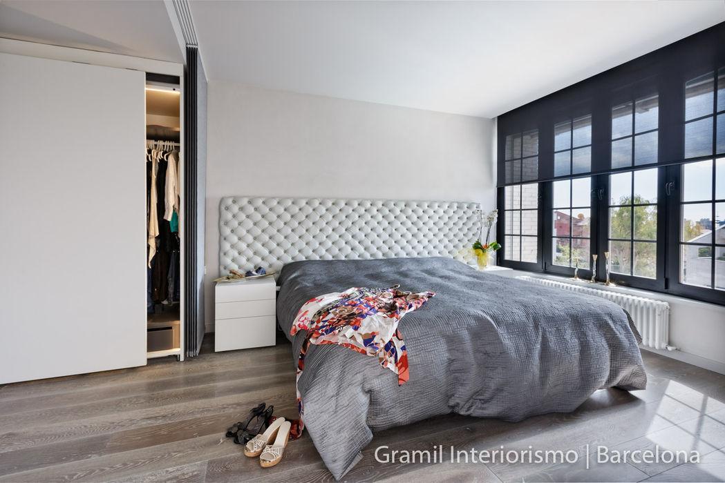 Vivienda en Sant Just Gramil Interiorismo II - Decoradores y diseñadores de interiores Dormitorios de estilo minimalista