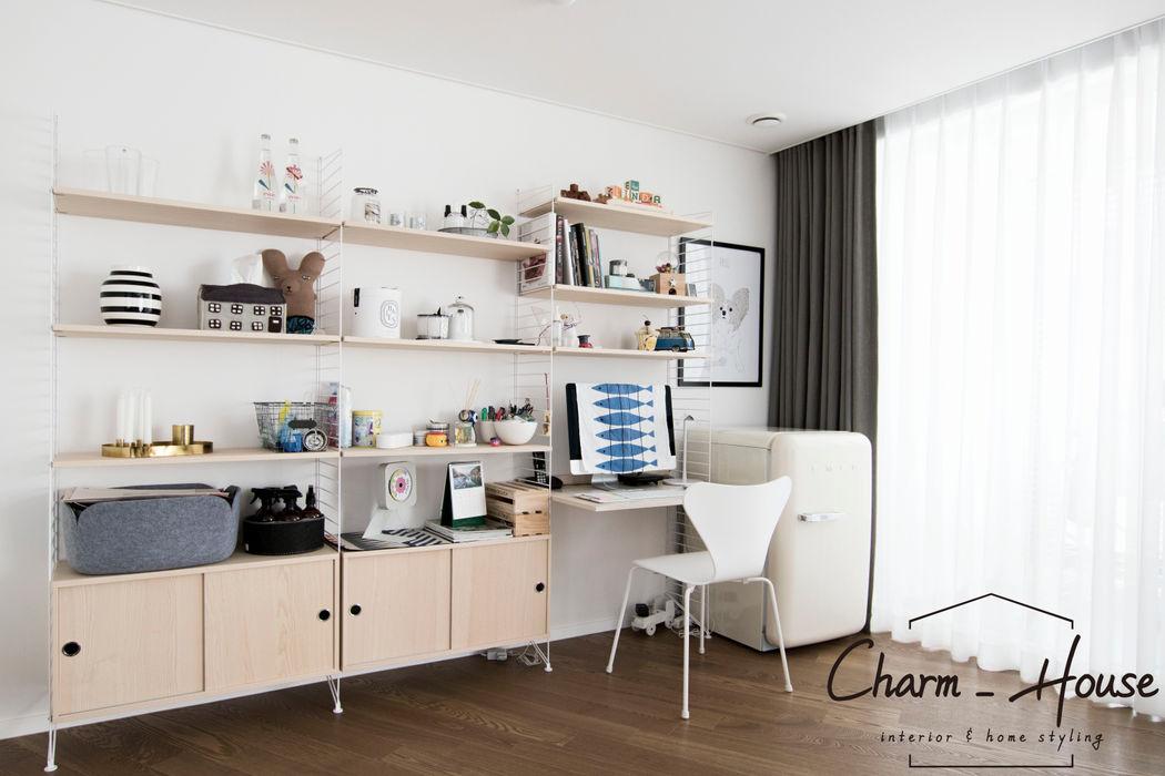 CHARM_HOUSE Modern Living Room