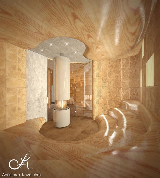 Spa Design studio by Anastasia Kovalchuk Modern Spa
