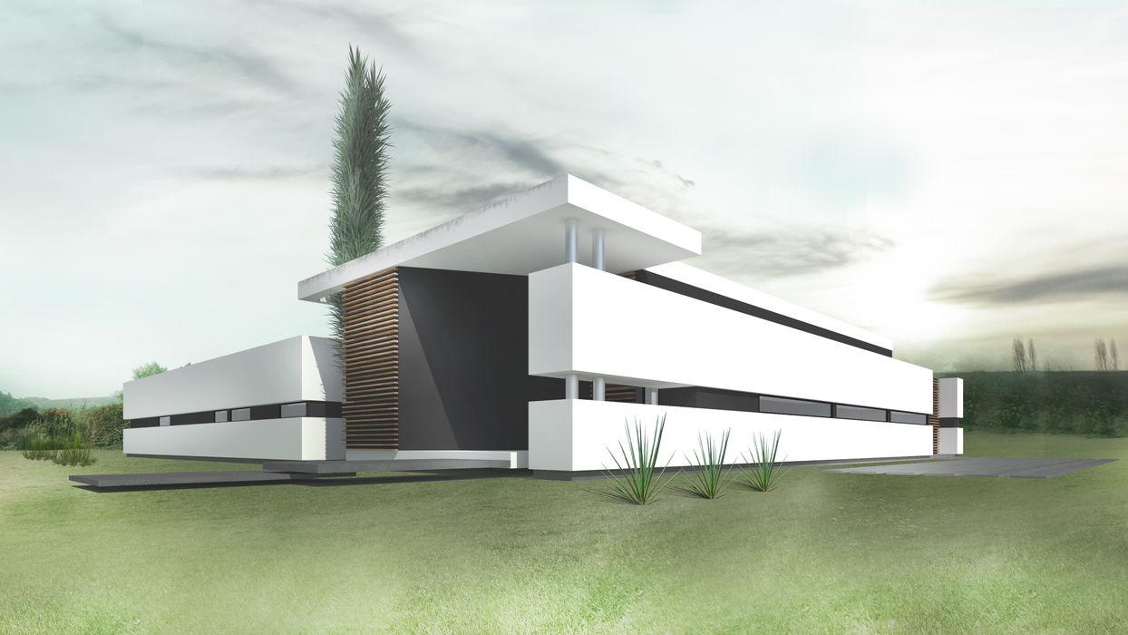 Proa Arquitectura Modern Bedroom
