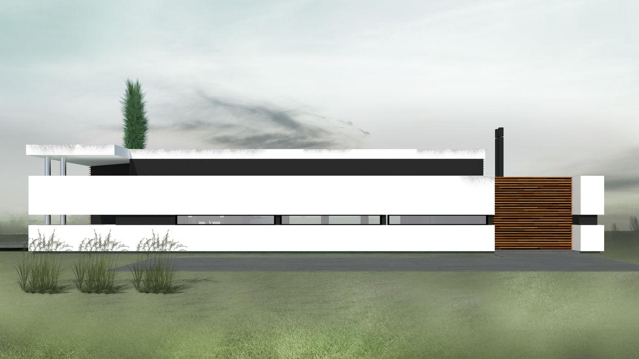 CASA KOSMAN Proa Arquitectura Dormitorios modernos: Ideas, imágenes y decoración