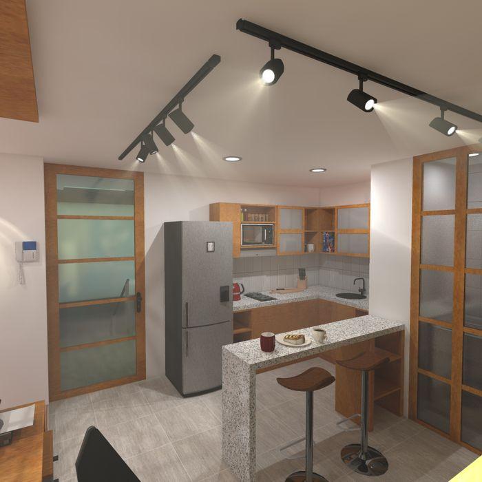 Estudio tipo 1 ConstruKapital Casas modernas