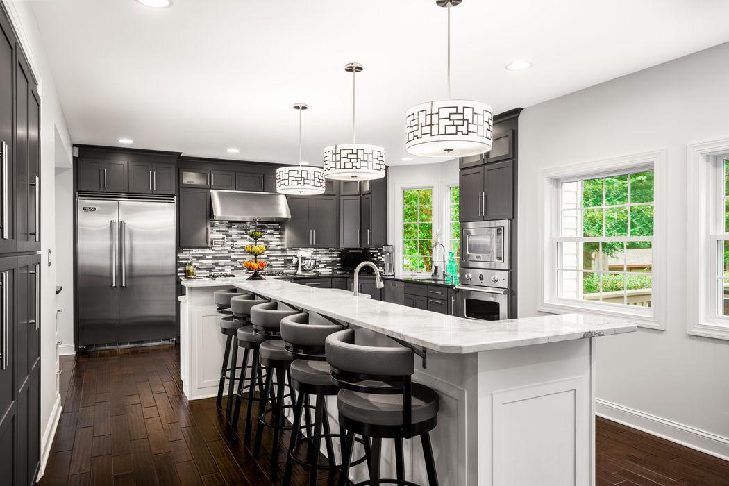 Viking Appliance Award Winning Kitchen Main Line Kitchen Design Kitchen Quartz White