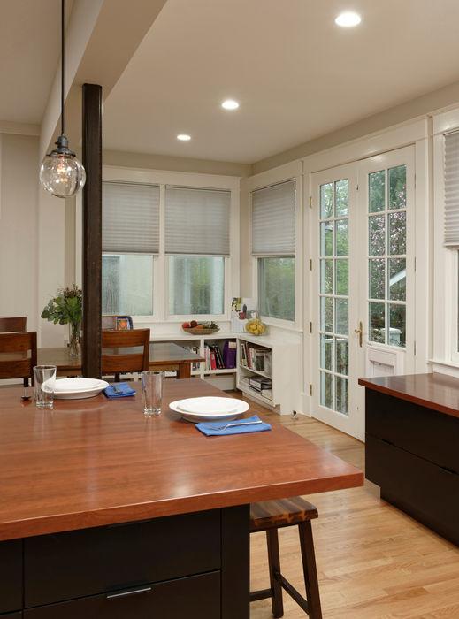 Cleveland Park DC Kosher Kitchen Renovation BOWA - Design Build Experts 現代廚房設計點子、靈感&圖片