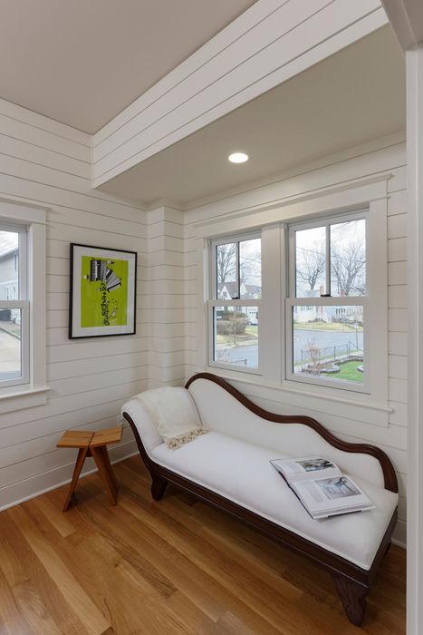 BOWA - Design Build Experts Corredores, halls e escadas minimalistas