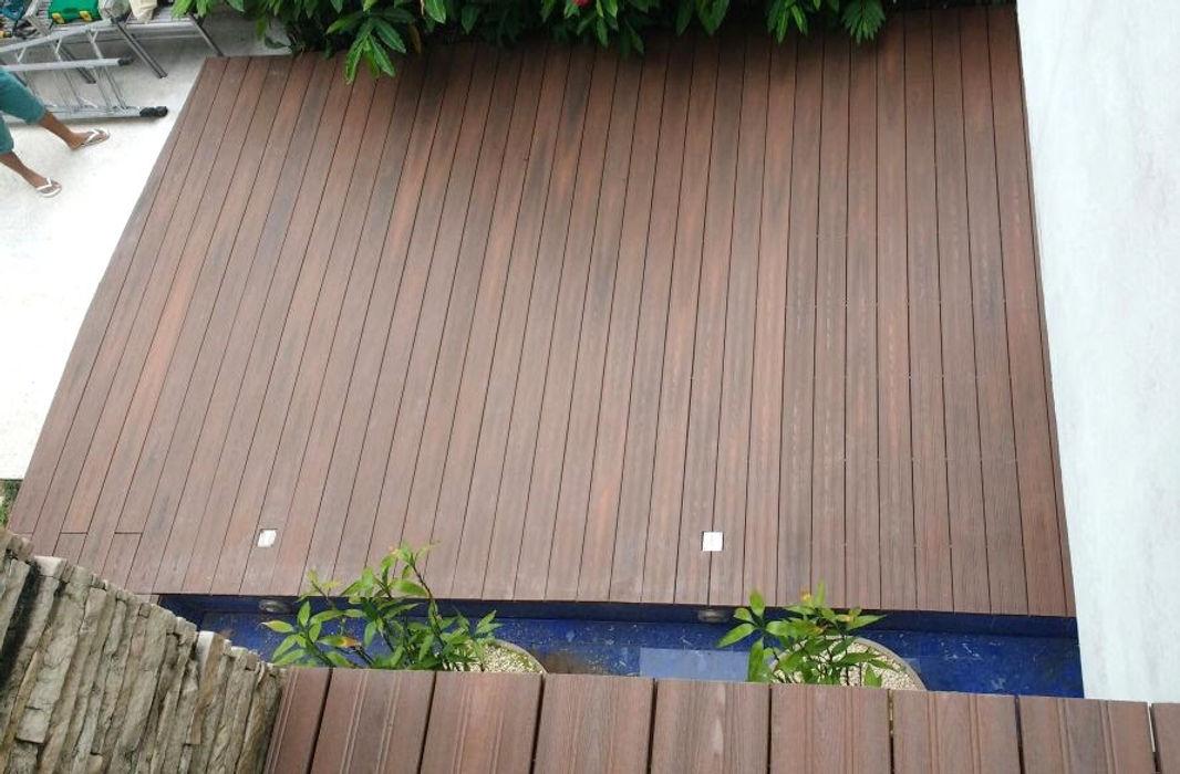 Ecopex Jardines zen Compuestos de madera y plástico Acabado en madera