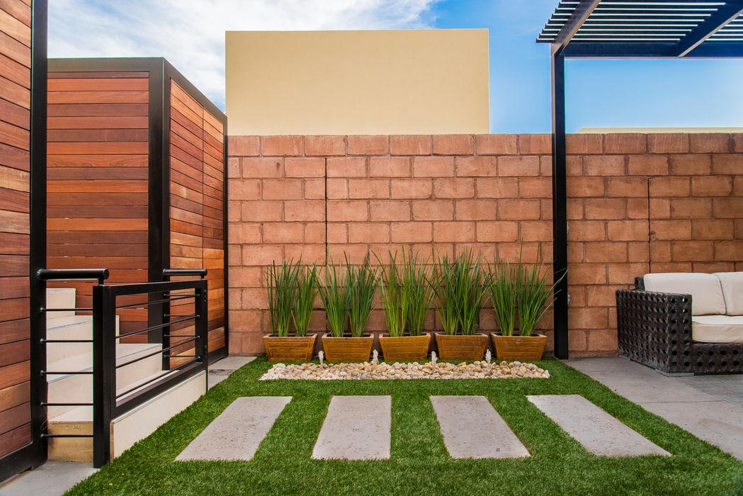 Área Exterior SFM S2 Arquitectos Jardines modernos