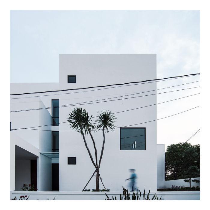 Tampak Depan Ahouse 3 studiopapa Rumah Minimalis