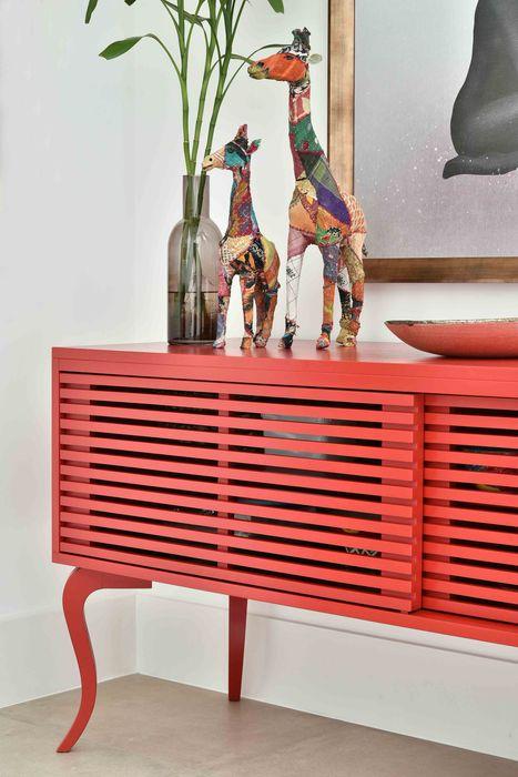Move Móvel Criação de Mobiliário Living roomStorage Wood Red