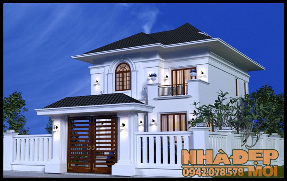 Sống động và mềm mại Công ty TNHH TKXD Nhà Đẹp Mới Biệt thự