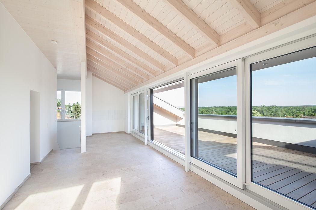Mehrfamilienhaus IH FFM-ARCHITEKTEN. Tovar + Tovar PartGmbB Dach