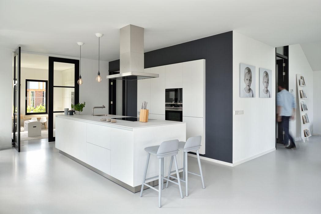 BNLA architecten Cocinas de estilo moderno