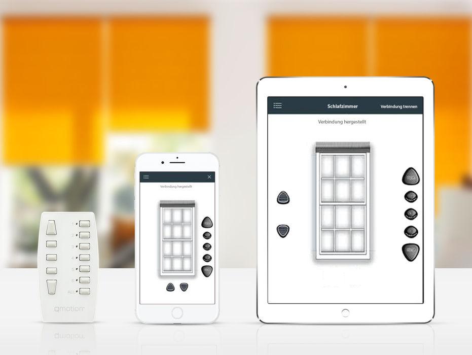 Bedienkomfort erfal GmbH & Co. KG Fenster & TürRollos und Jalousien Orange