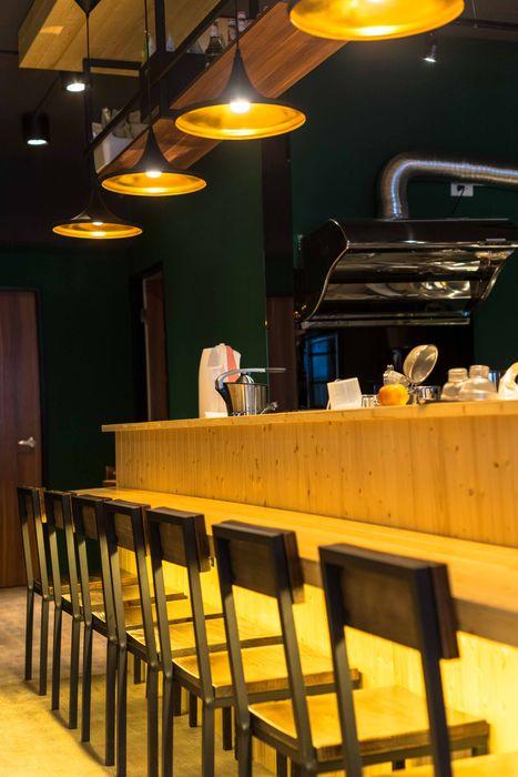 古早日式設計氛圍_新莊茶飲 春瑾室內裝修有限公司 牆面