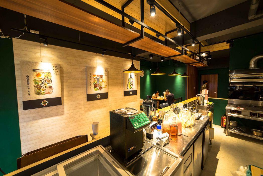 古早日式設計氛圍_新莊茶飲 春瑾室內裝修有限公司 餐廳