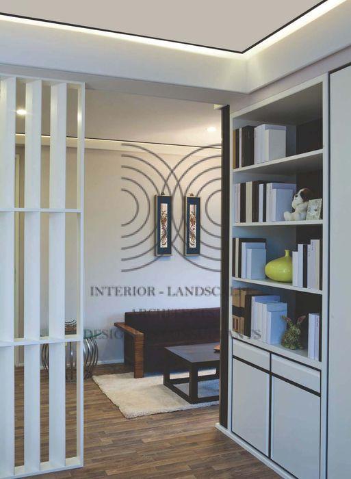 墨色線條映襯白色│ 臥室 大真室內裝修設計有限公司 臥室 實木 Black