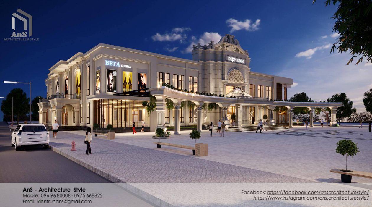 Dự án Trung Tâm Thương Mại AnS - Architecture Style Khu Thương mại