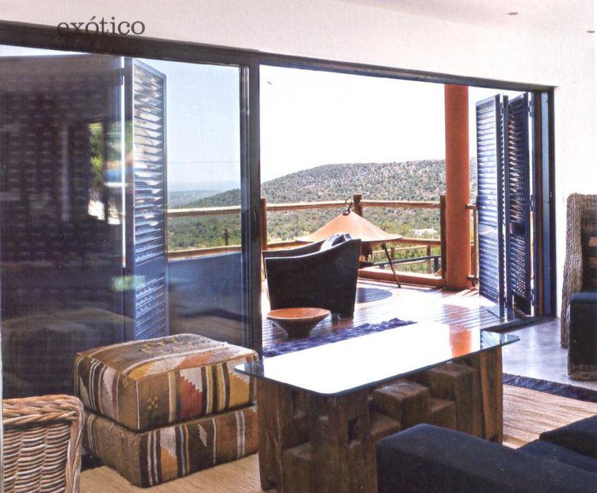 Projeto Serra de Loulé Officina Boarotto Moderne Wohnzimmer