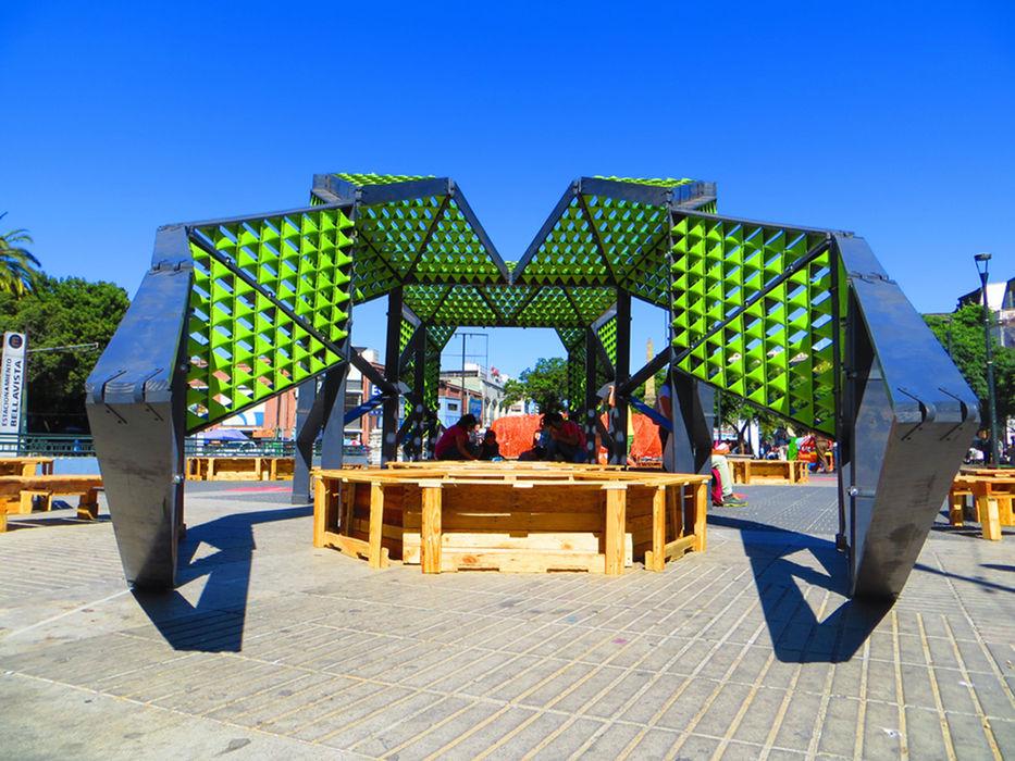 Reptilia Festival de las Artes 2014 Tetralux Arquitectos Oficinas y tiendas