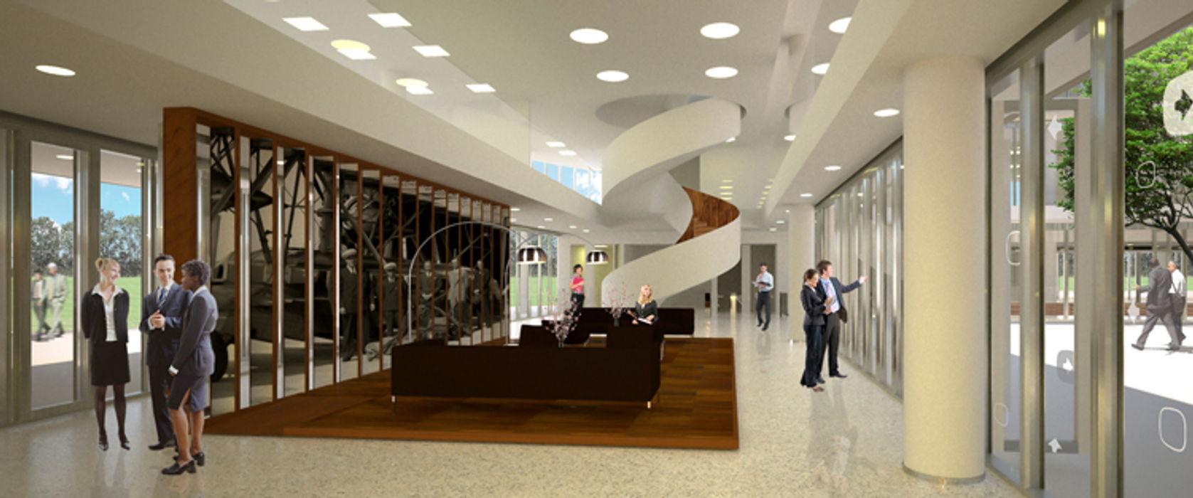 Sevita +studio Modern office buildings
