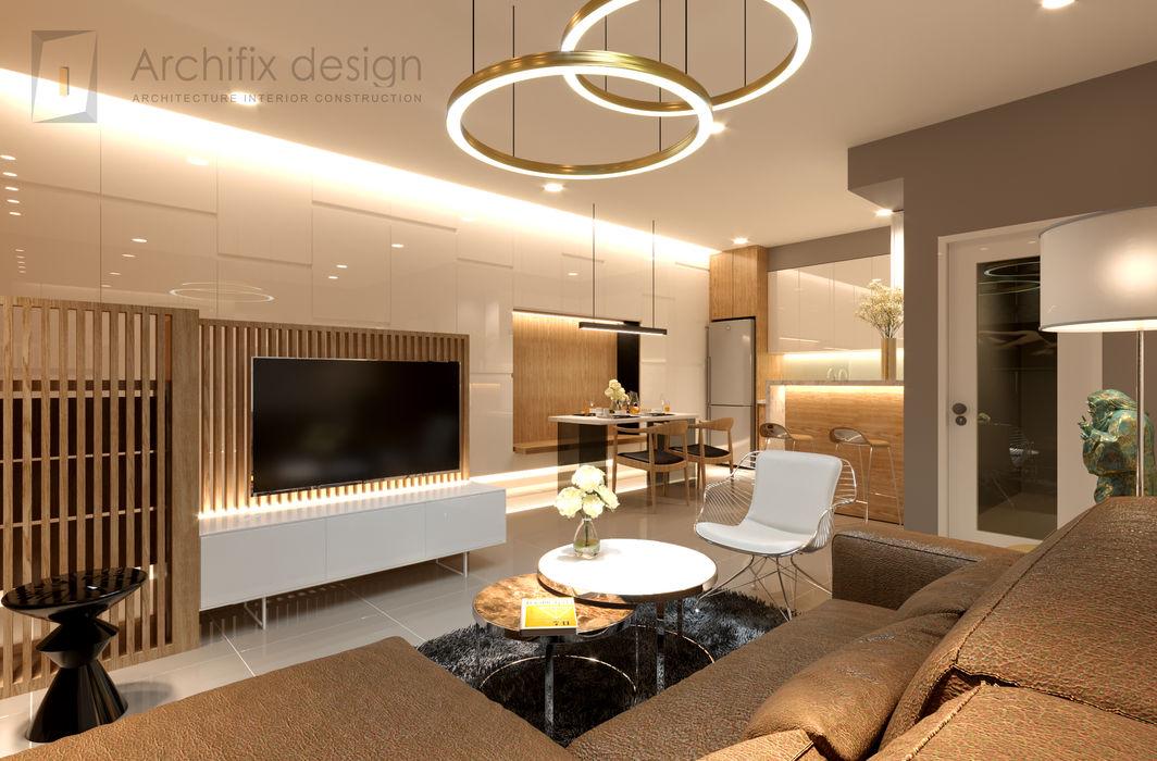 Công Ty TNHH Archifix Design Modern living room