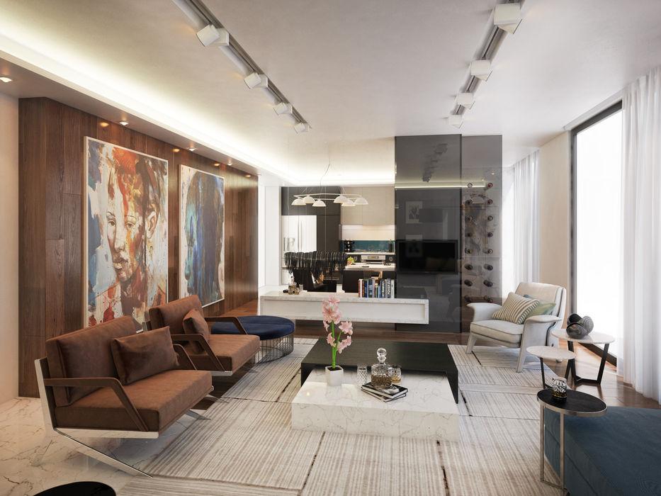 Dessiner Interior Architectural Phòng khách