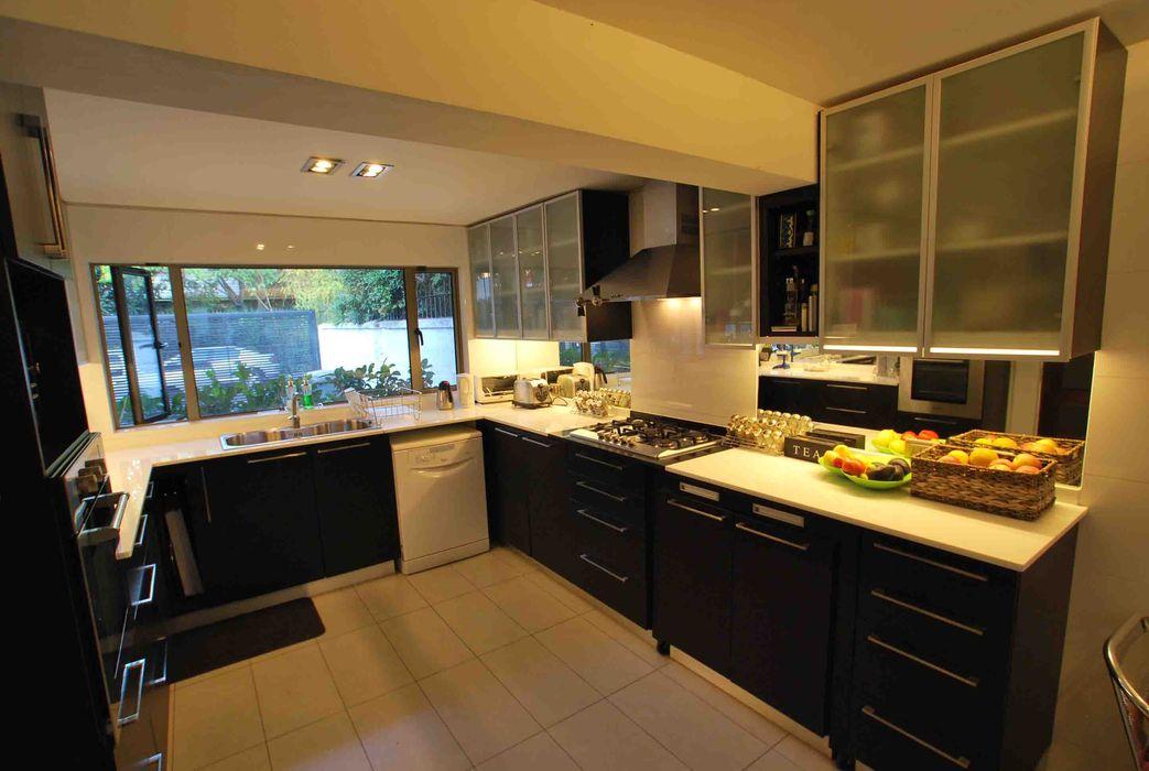 Cocina Dra Behm, Vitacura Selica Cocinas de estilo moderno