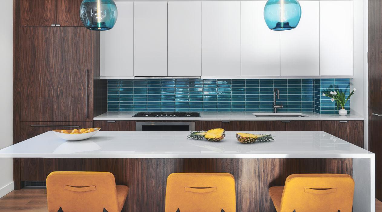 Tribeca Apartment Sarah Jefferys Design Modern Kitchen