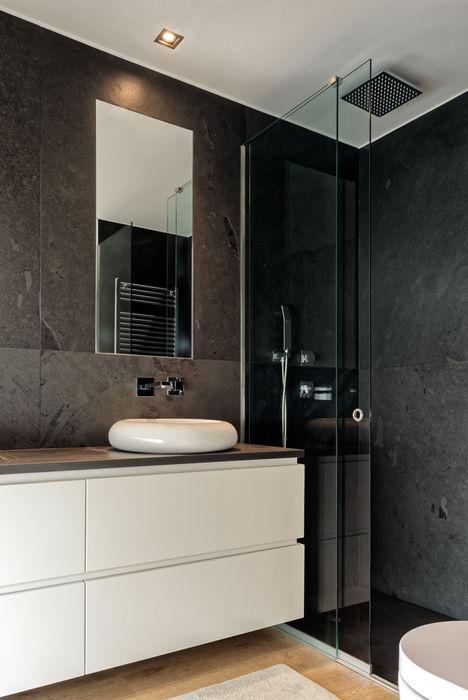 Empreendimento Pátios D'Este | Fotografia de Arquitectura Bruno Braumann - Fotografia de Arquitectura e Interiores Casas de banho modernas