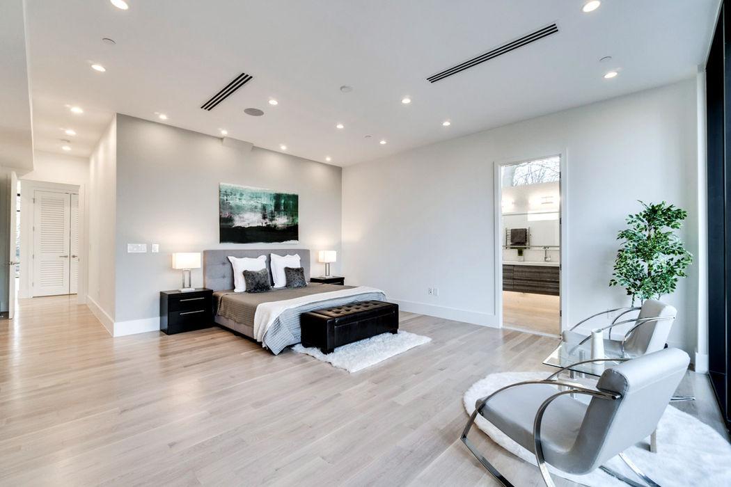 KUBE architecture Dormitorios de estilo moderno