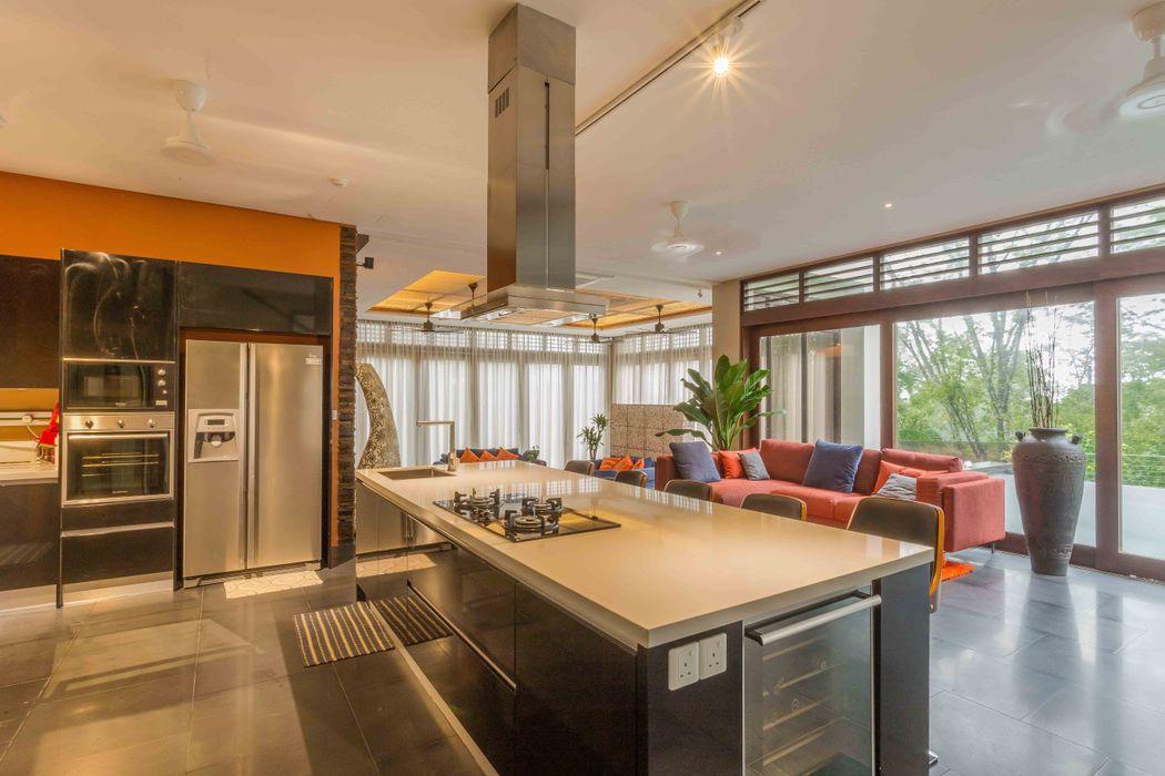 MJ Kanny Architect Tropische Küchen
