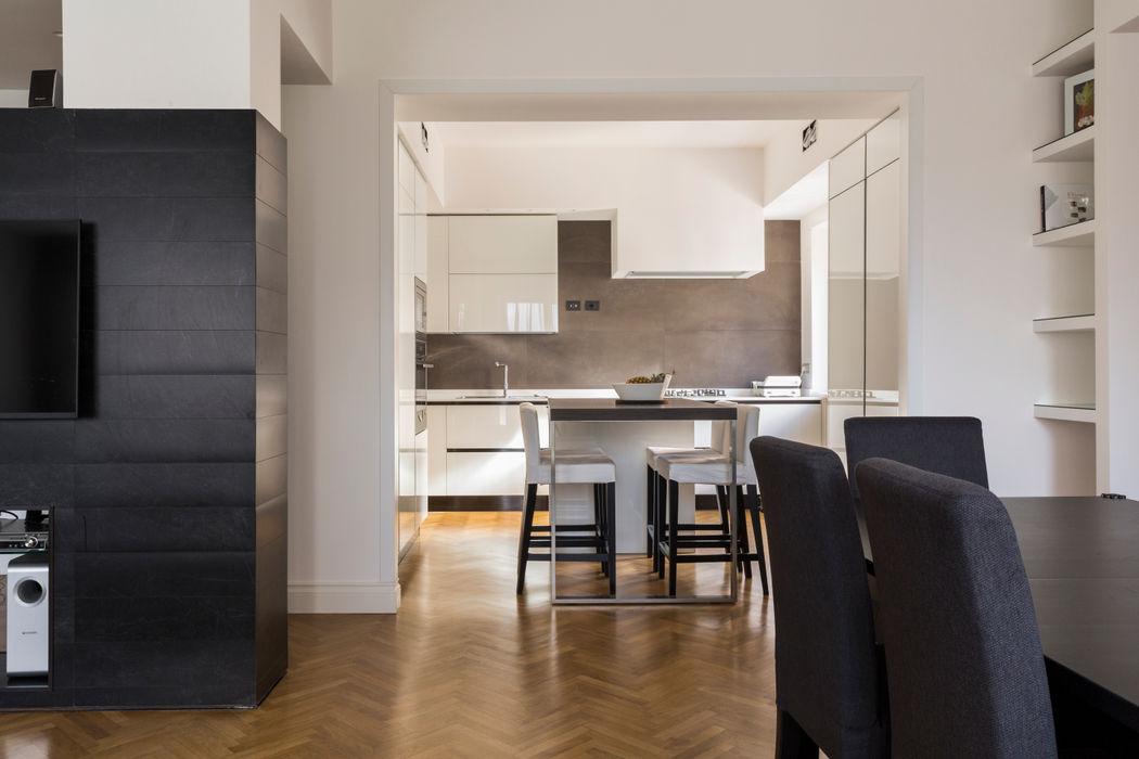 APPARTAMENTO ZONA BALDUINA a2 Studio Borgia - Romagnolo architetti Cucina moderna