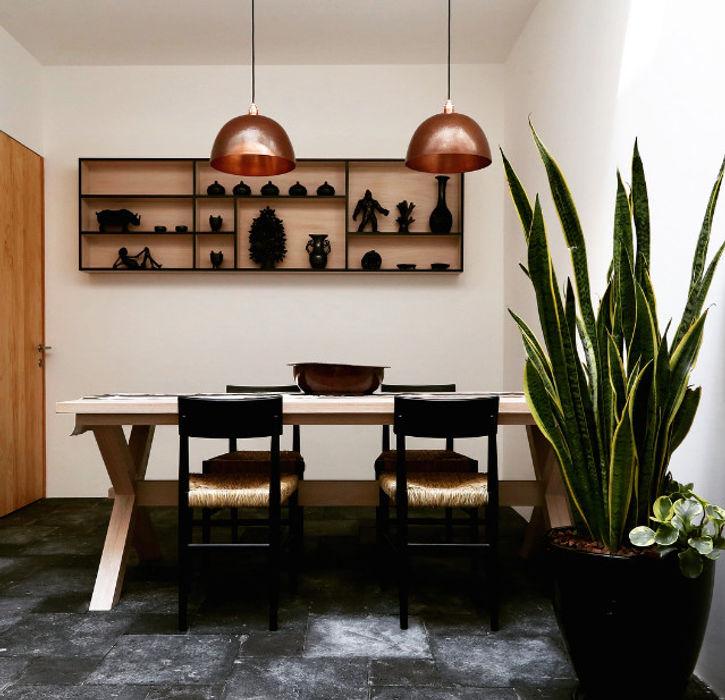 Luminosa ™ Modern Dining Room Metal Metallic/Silver