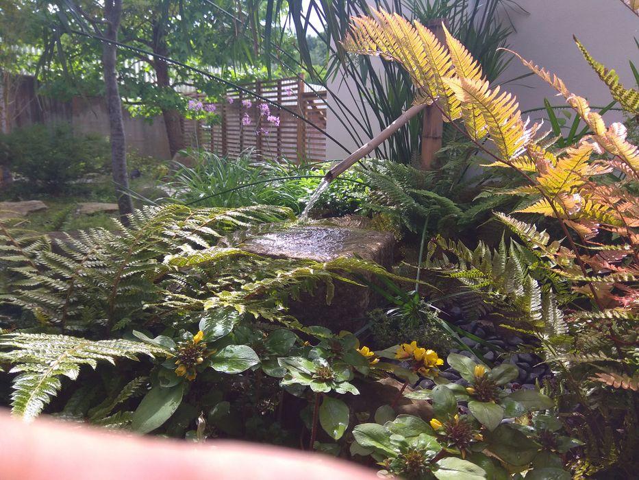 Jardin Zen en un pequeño espacio Jardines Japoneses -- Estudio de Paisajismo Jardines japoneses