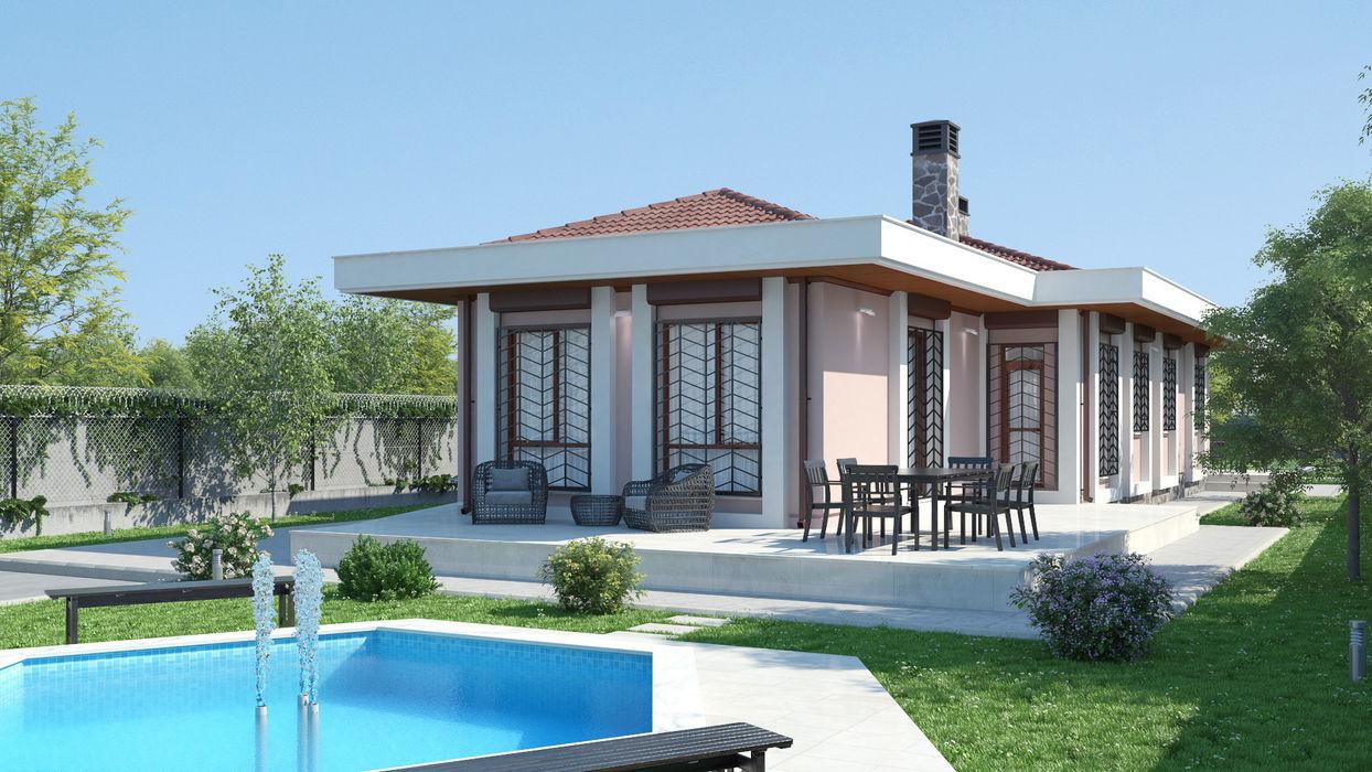 Müstakil Ev Dündar Design - Mimari Görselleştirme Modern Evler