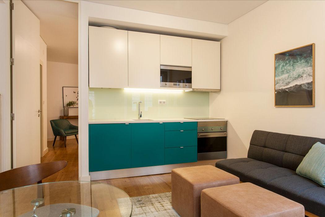 Sala Comum Traço Magenta - Design de Interiores Sala de estarAcessórios e Decoração Azul