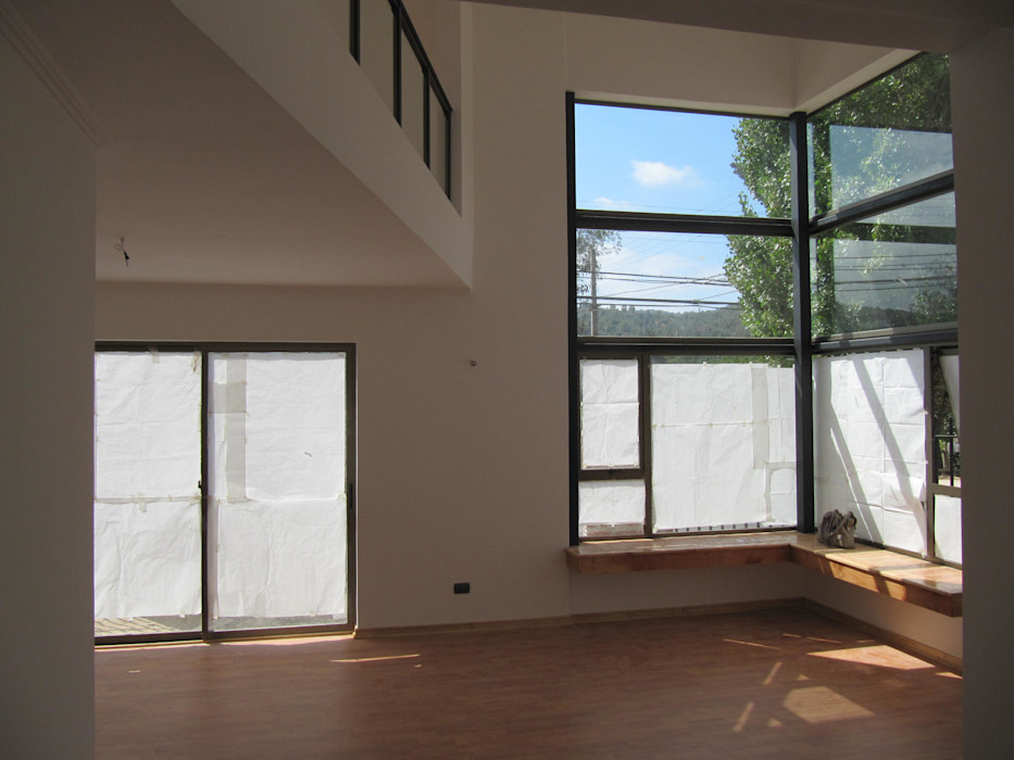 Casa Retiro Lau Arquitectos Livings de estilo moderno