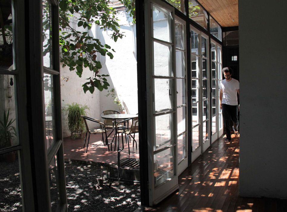 Casa Santa Isabel Crescente Böhme Arquitectos Casas de madera Vidrio Acabado en madera