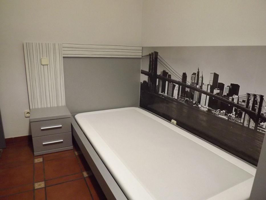 dormitorio después Almudena Madrid Interiorismo, diseño y decoración de interiores Dormitorios de estilo clásico