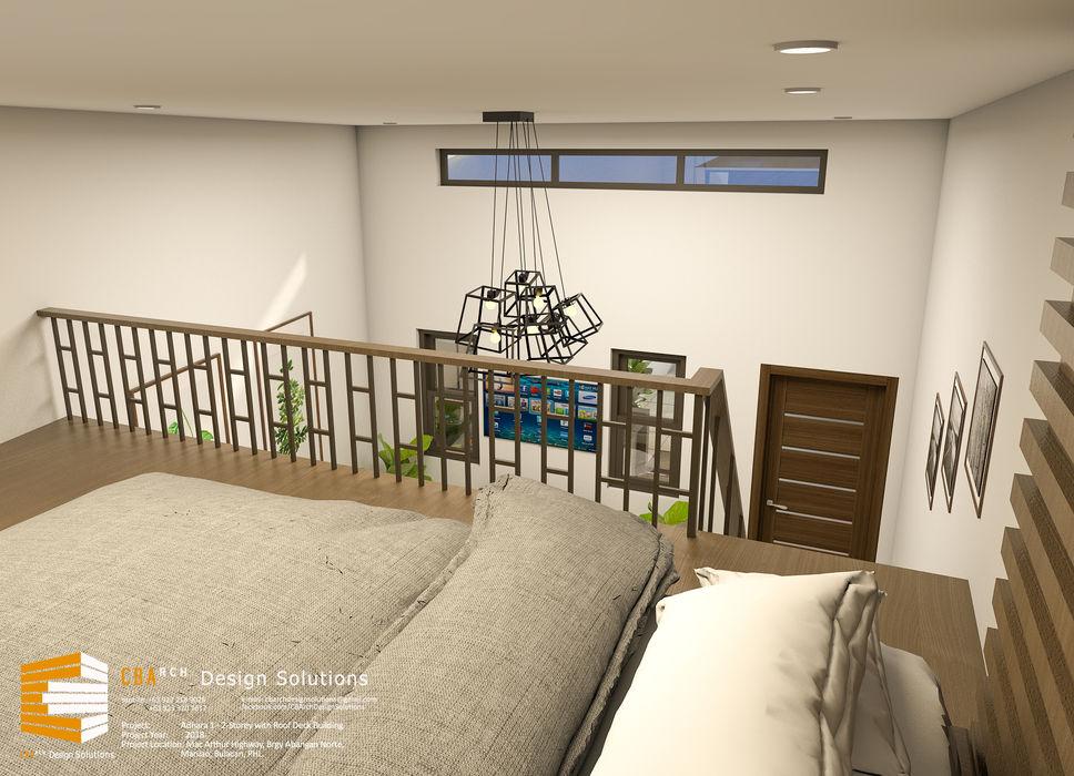 CB.Arch Design Solutions Galerías y espacios comerciales de estilo minimalista Beige