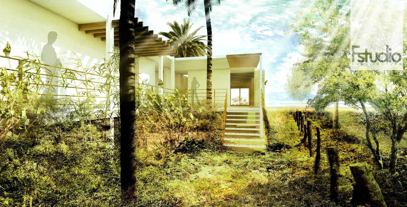 homify Moderne Häuser Holz Grün