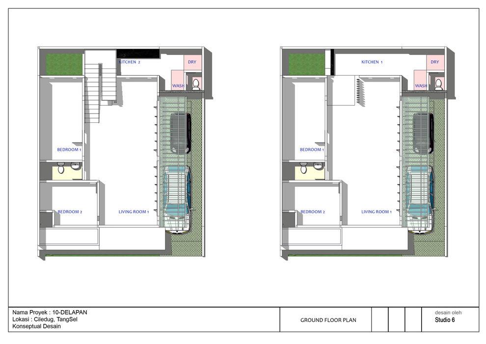 Option Denah Rumah 10Delapan jaas.design